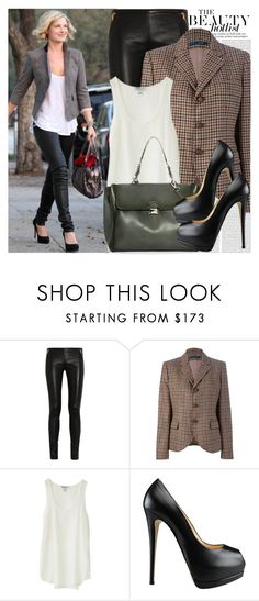 """""""896. Celebrity Style: Ali Larter"""" by chocolatepumma ❤ liked on Polyvore featuring Oris, Emilio Pucci, Ralph Lauren Blue Label, Nieves Lavi, Ermanno Scervino and Giuseppe Zanotti"""