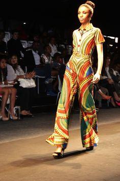 Africa Fashion International 2012: Thula Sindi Collection