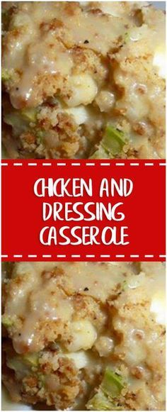 Chicken and Dressing Casserole – Fresh Family Recipes