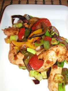 Stir-Fry Chicken With Black Bean Sauce