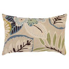 Found it at Wayfair - Tropical Rectangular Throw Pillow in Beige