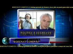 BOECHAT COMENTA AUDIO BOMBASTICO DE ROMERO JUCA QUE PLANEJA TIRA DILMA P...