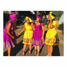 309 Best Tsonga Images In 2020 African Fashion Traditional, African Traditional Wedding Dress, Traditional Wedding Attire, African Inspired Fashion, Traditional Outfits, African Prom Dresses, African Fashion Dresses, African Dress, African Wear