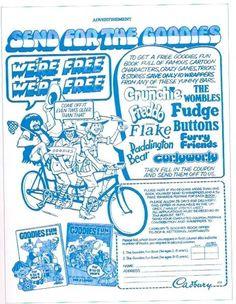 Cadbury's Goodies promo, 1977