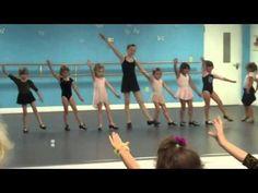 Good example of preschool tap choreography.