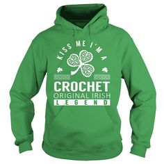 Kiss Me CROCHET Last Name Surname T-Shirt Order HERE ==> https://www.sunfrog.com/Names/Kiss-Me-CROCHET-Last-Name-Surname-T-Shirt-Green-Hoodie.html?52686 Please tag & share with your friends who would love it  #superbowl #birthdaygifts #christmasgifts