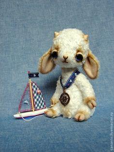 """Мишки Тедди ручной работы. Ярмарка Мастеров - ручная работа Ягнёнок-тедди """"Марек"""". Handmade."""