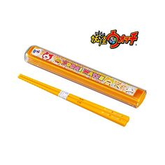 Yokai Watch is taking the world by storm! This Yokai Watch chopsticks comes with a cute case with popular Yokai Watch characters such as Whisper, Jibanyan, Komasan and more. Machine washable.  Producer: OSK Country of Production: Japan Chopstick case: Approx.175×27×H15mm Chopsticks:16.5cm