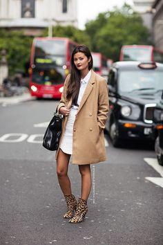 textured white skirt