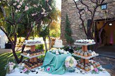 Our cupcake table  http://www.sliceoflifebakery.org/