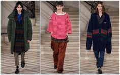 A modelagem oversized promete continuar em alta na moda inverno 2017 e a novidade fica por conta do visual com estilo grunge.