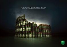 "Heineken Advertisement: ""History is made in Rome"""