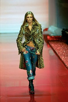 Roberto Cavalli Fall-Winter 1999