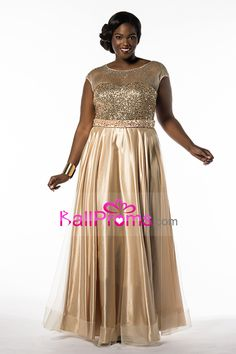 2015 Prom Dresses Scoop A Line Tulle With Beading