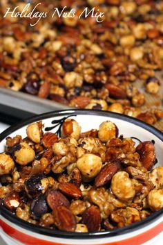 Easy holidays nuts mix- super easy and delicious