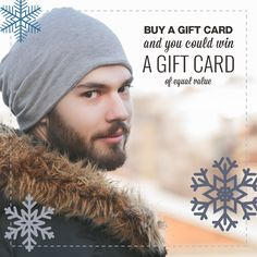 Until the end of the month, when you buy a gift card from #PlatosClosetBarrie you'll be entered to win another of the same value – Think of all the cute outfits that could buy! Come in today and pick up the gift that's always in style and be entered to win! #giftcard #giftideas #winwin | www.platosclosetbarrie.com