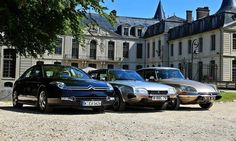 Beautiful Citroens - XM, CX and DS.
