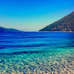 Sami beach. Kefalonia, Greece.
