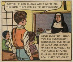Hence why I feel Catholicism is a freakin joke.