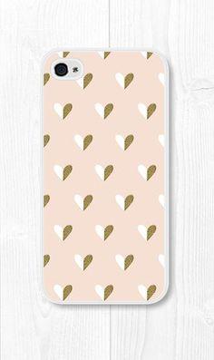 Gold iPhone Case Blush Pink