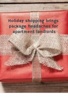 Holiday shopping brings package headaches for apartment landlords - AAOA Apartment Communities, Residential Real Estate, Property Management, Being A Landlord, Bring It On, Packaging, Holiday, Shopping, Vacations