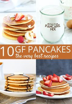 Ten of the very best gluten free pancake recipes, for everything from a super useful DIY pancake mix to low-carb Paleo coconut flour pancakes, crêpes, and a gluten free Dutch baby for maximum impact—with minimum effort.