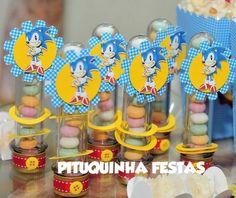 TUBETE SONIC | Pituquinha Festas | 2C2D8F - Elo7