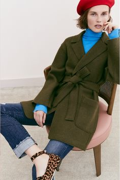 As the temperatures drop, looking for the perfect outerwear pieces should be on the top of your to do list. J. Crew's recent 'Looks We Love' trend guide sp