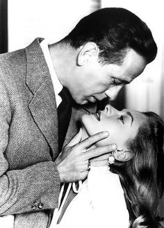 "Bogie and Bacall. ""You know how to whistle don't you, Steve? You just put your lips together and blow."""