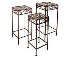 Objetos de ferro Mesas, cadeiras e acessórios | Westwing - Casa & Decoração