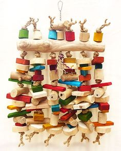 Abacus Large Parrot Toy
