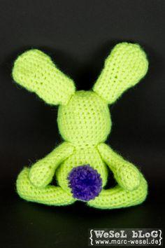 Häkelanleitung Hase - Amigurumi Hase - free crochet pattern