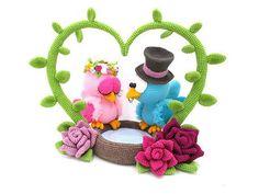 Mole Blinded by Love amigurumi crochet pattern Crochet Patterns Amigurumi, Crochet Toys, Free Crochet, Crochet Birds, Crochet Animals, Crochet Wedding, Slip Stitch, Aliexpress, Single Crochet