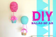 DIY Balão de Ar Decorativo