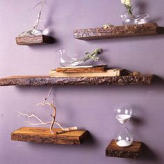#Rustic #Wood #Shelves