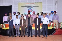Dignatories with ME Deptt Faculty in National Conference LDSEM 2014