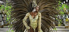 "Carnival ""passista"". Lost Samba"
