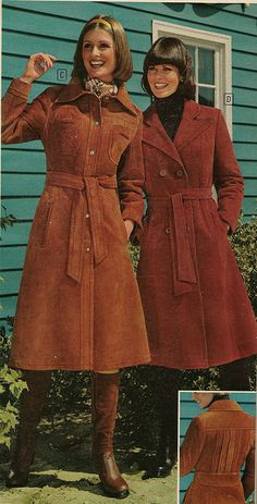 Sears Fall/Winter 1976 Coats, Hair, Boots