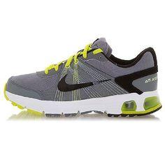 afa116a131718b Boy s Nike Air Max Run Lite 3 Running Shoe COOL GREY CYBER WHITE