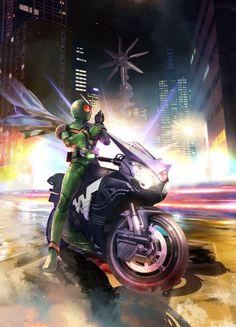 Kamen Rider W, Kamen Rider Series, Kamen Rider Faiz, Power Rangers, Godzilla, Camilla, Final Fantasy, Cyber, Character Design