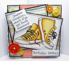 coops cluttered corner: Passion For Promarkers - One for the boys. Birthday Cards For Men, Handmade Birthday Cards, Birthday Wishes, Boy Cards, Kids Cards, Teenager Birthday, Star Cards, Unicorn Crafts, Funny Cards