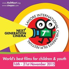 The Little Art in collaboration with Cinepax Cinemas and Alhamra present  7th Lahore International Children's Film Festival 2015 16-21 Nov 2015  Presenting 77 films from 26 countries Morning and Evening Shows  For Reservation & Details www.thelittleart.org | http://ift.tt/1q8qXk6  #TLAORG #Lahore #Children #Film #Festival #LICFF #2k15 #art #education #NewGenerationCinema #socEnt #entertainment #instaphoto #instadaily #vsco #Pakistan #Youth #ArtsEd #CinepaxCinemas #cinemaforkids #artmatters…