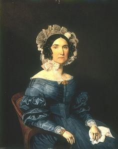 Ferdinand Georg Waldmuller- portrait of woman. 1830s