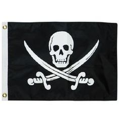 Pirate Flag Boating Accessories