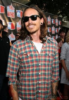 brandon boyd of incubus.. he is so hot but not really in this pic but i couldnt pass it up :)