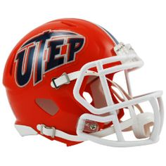 Old Ghost Collectibles - University of Texas El Paso UTEP Miners NCAA Riddell Mini Speed Football Helmet, $21.99 (http://www.oldghostcollectibles.com/utep-miners-riddell-mini-speed-football-helmet/)