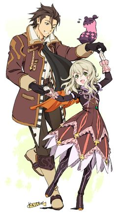 tales of xillia milla and jude relationship