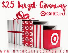 $25 Target Gift Card Giveaway from NY Foodie Family