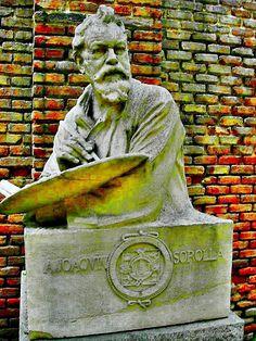 Joaquín Sorolla. Jardín de su casa-museo. Calle General Martínez Campos, via Flickr.