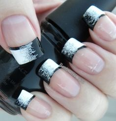 French Nail Art designs are minimal yet stylish Nail designs for short as well as long Nails. Here are the best french manicure ideas, which are gorgeous. Nail Designs 2014, French Tip Nail Designs, French Nail Art, French Tip Nails, Nailart French, French Pedicure, French Manicures, Pedicure Designs, French Manicure With A Twist